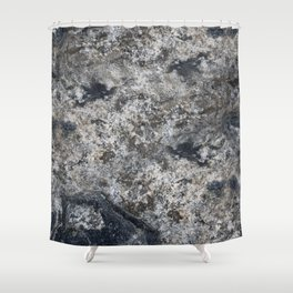 Real SoapStone Shower Curtain