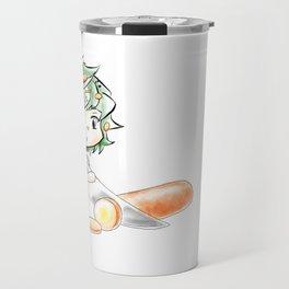 Chibi Salad Personified Travel Mug