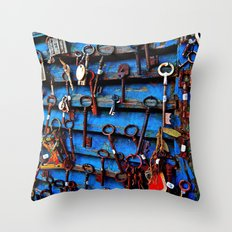 Unlock Me Throw Pillow