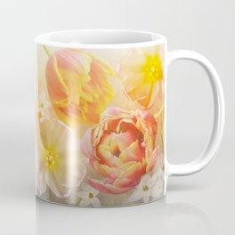 Tulips in pink, orange and yellow Coffee Mug