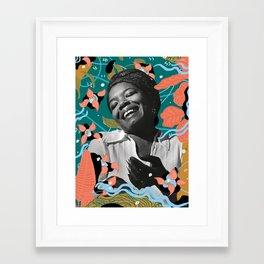 Maya Angelou for #TimesUpNow Framed Art Print