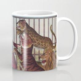 The Lion Queen - Vintage Circus Art, 1873 Coffee Mug