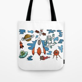 Life From Space Tote Bag