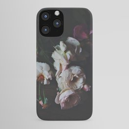 English Roses Still Life - Dark Number Two iPhone Case