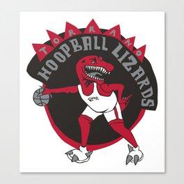 torrano hoopball lizards Canvas Print
