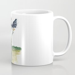crocodile and bird Coffee Mug