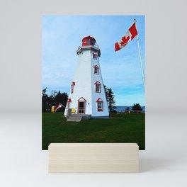 Lighthouse Panmure Island Mini Art Print
