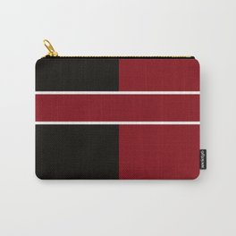Team Color 6...Maroon,black Carry-All Pouch