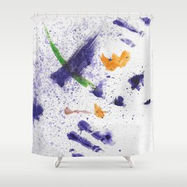 Watercolor Mania Shower Curtain