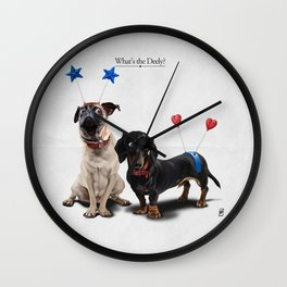 What's the Deely? Wall Clock