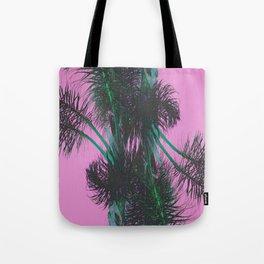 Chroma Palms Tote Bag