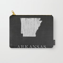 Arkansas State Map Chalk Drawing Carry-All Pouch