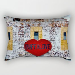 Buffalo Urban statement Rectangular Pillow