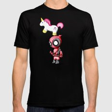 Merc with a Unicorn X-LARGE Black Mens Fitted Tee