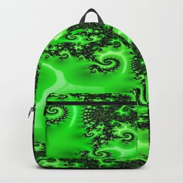 Green Lace Backpack