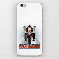 Mean Machine iPhone Skin