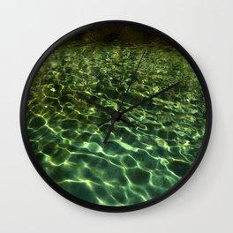 Water 1 Wall Clock