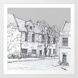 York Quadrangle Art Print