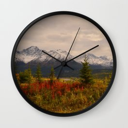 Seasons Turning Wall Clock