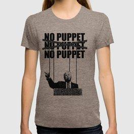 No Puppet - Protest Art T-shirt