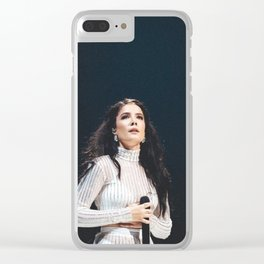 Halsey 30 Clear iPhone Case