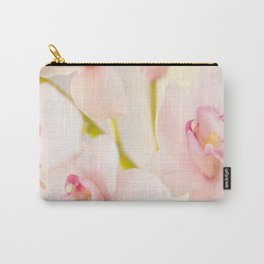 Orchid Flower Bouquet On A Light Background #decor #society6 #homedecor Carry-All Pouch