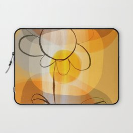 Abstract flower Laptop Sleeve