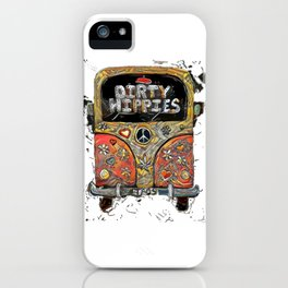 Dirty Hippies iPhone Case