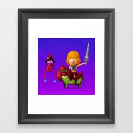 Prince of Eternia Framed Art Print