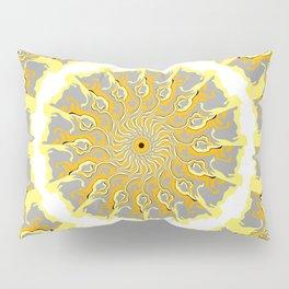 Orange and Yellow Kaleidoscope 2 Pillow Sham