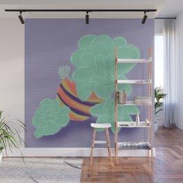 Soft Succulents Wall Mural
