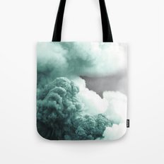 Sea Foam Explosion Tote Bag