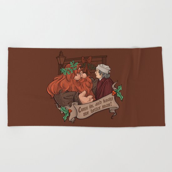 Know me Better, Man! Beach Towel