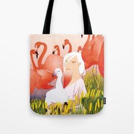 13 Flamencos Tote Bag