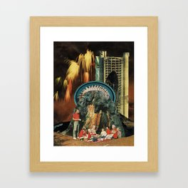 led Framed Art Print