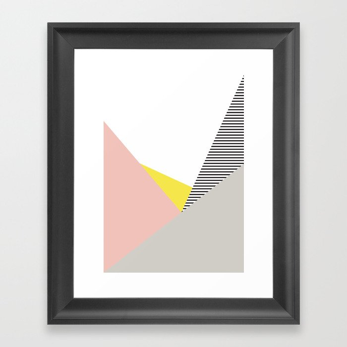 Minimal Complexity V.5 Framed Art Print