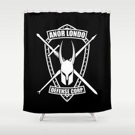 Anor Londo Defense Corp Shower Curtain