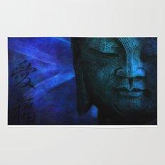 blue balance Rug