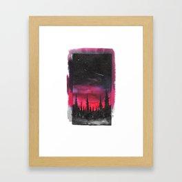 Lost But Motivated Framed Art Print