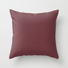 SOLID MAUVE COLOR Throw Pillow