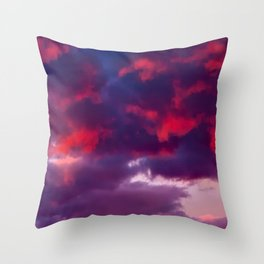 BRUISED Throw Pillow