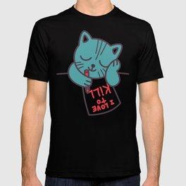 I Love To Kill Cat T-shirt