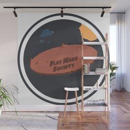 Flat Mars Society Wall Mural