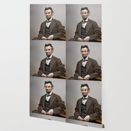 Abraham Lincoln Painting Wallpaper