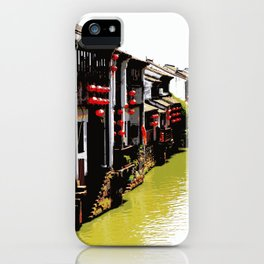 Suzhou, Old Town iPhone Case