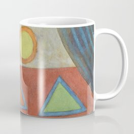 Clear the Stage for the Geometry Show Coffee Mug