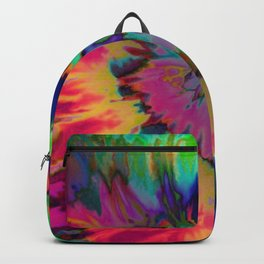 Inhale: A pretty minimal piece with bits of pinks, blues, greens, and yellows to your hearts content Backpack