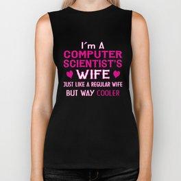 Computer Scientist's Wife Biker Tank