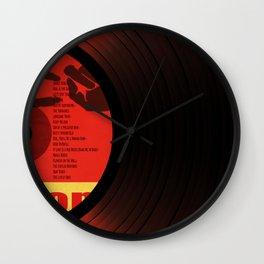 Vinil Movies 2 Wall Clock