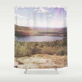 hidden rainbow Shower Curtain